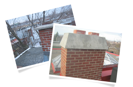 Chimney without cap