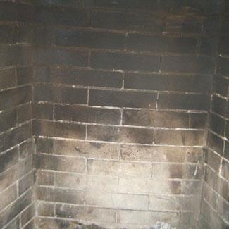 Degraded firebox